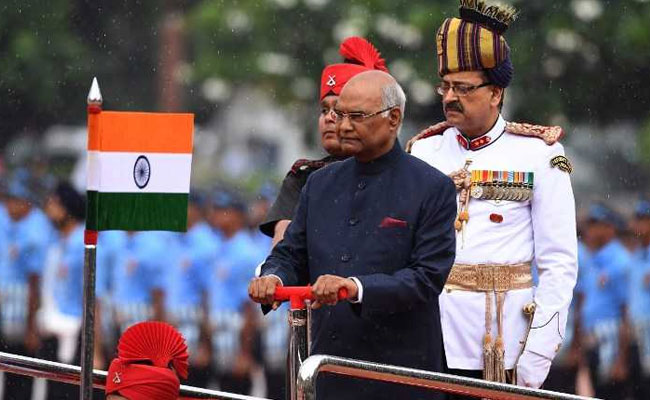 President of India visits Leh