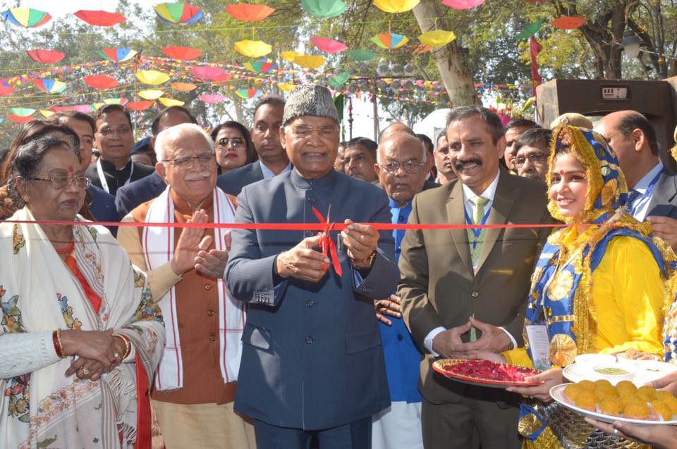 President Shri Ram Nath Kovind Inaugurates 34th Surajkund International Crafts Mela