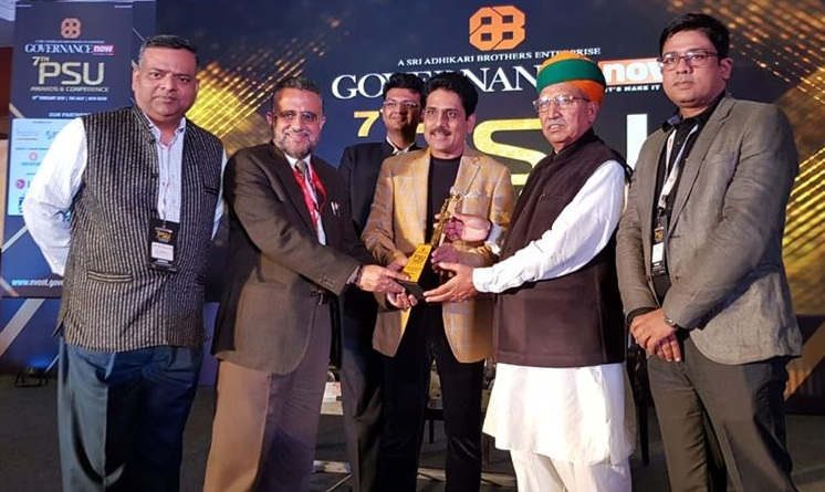RailTel Bagged The 7th Governance Now PSU Awards 2020