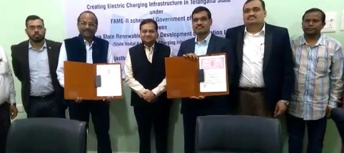 REIL signs MoU with Telangana Renewable Energy Agency
