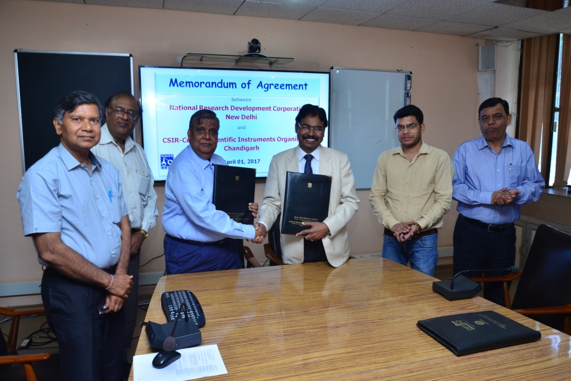 NRDC Inks MOA with CSIR, CSIO for Commercializing IPs and Technology