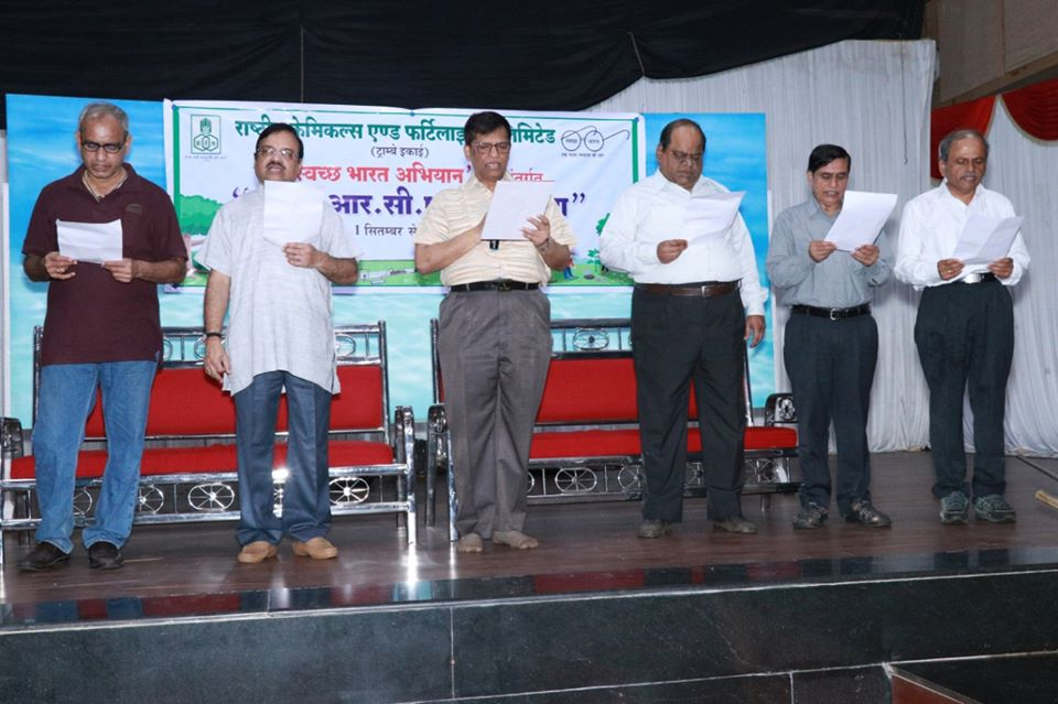 RCF Kisan Manch observed Swachhta Pakhwada 1st to 15th Sept 2019