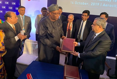 RITES signs MoU with Ministry of Railway Development