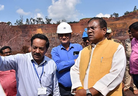Minister of State for Steel paid maiden visit to SAIL-RMD Mines