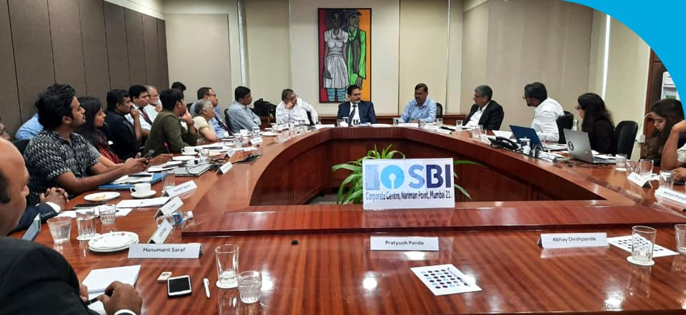 SBI organized a round table discussion on waste management