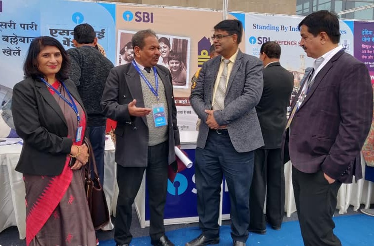 SBI Organised 4th Armed Forces Veterans Day