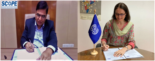 SCOPE and ILO to undertake a joint study on women empowerment