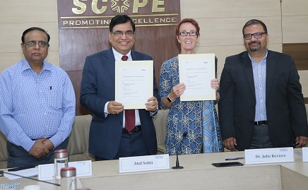 SCOPE and GIZ Germany join hands to work on Climate Change and climate finance