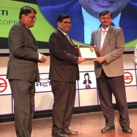 DG SCOPE conferred with most admired leader award
