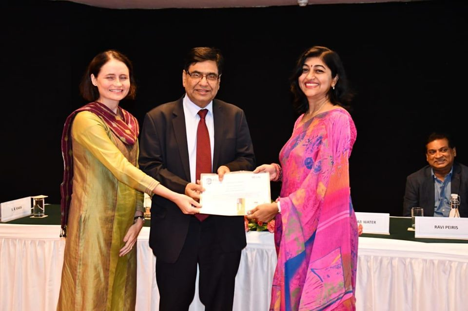 NTPC HR  Professional Ms Pratibha Singh becomes ILO SCOPE Network Champion
