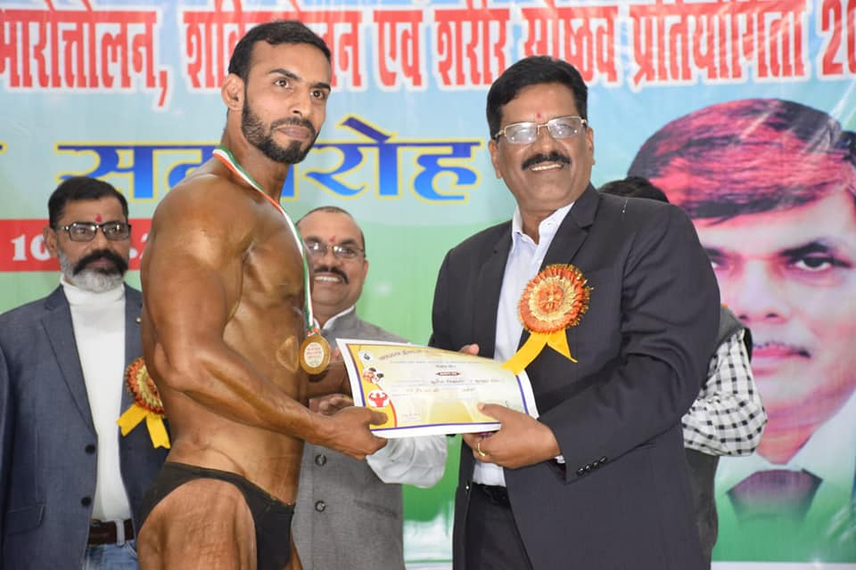 Power lifting and body building tournament held at SECL