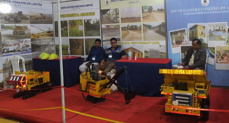 SECL has displayed the latest mining technology used in SECL