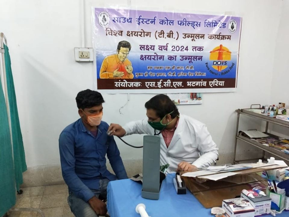 SECL Organized Tuberculosis Camp