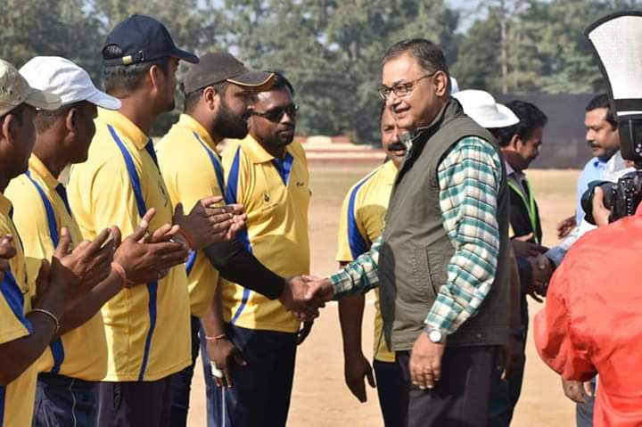SECL Organised Inter Area Cricket Tournament