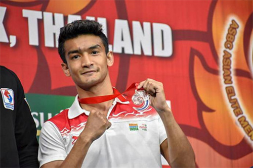 ONGCian Shiva Thapa Shines in Asian Boxing Championships