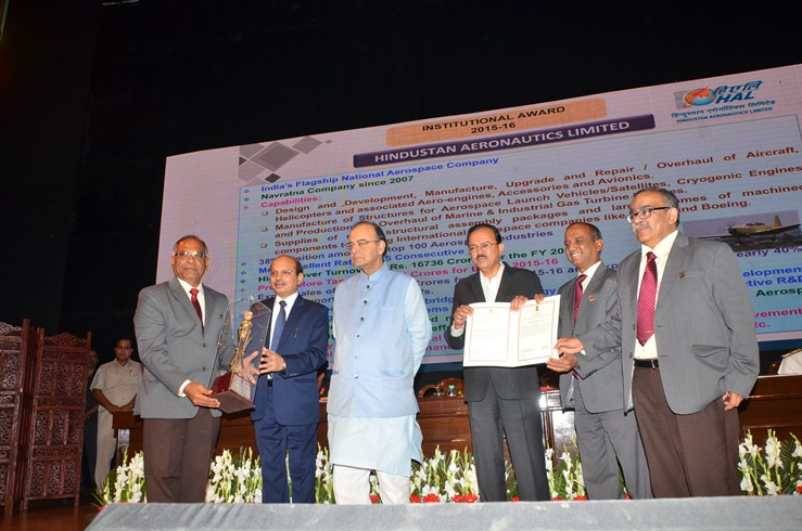 Raksha Mantri Confers Awards for Excellence on HAL