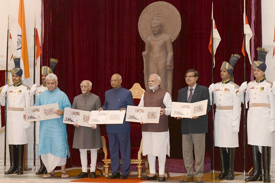 Commemorative Postage Stamps on Quit India Movement