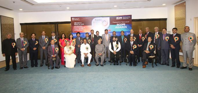 Reciepients of SCOPE Excellence Awards