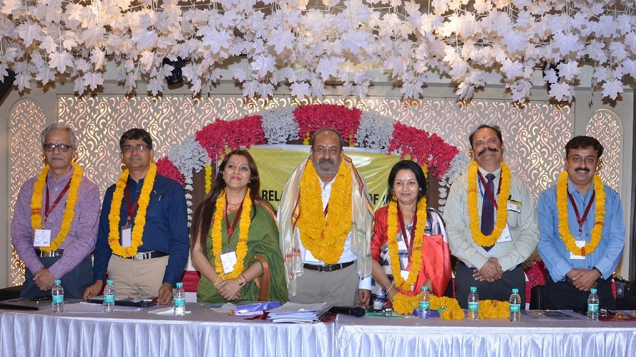 Dr Ajit Pathak re-elected as the National President of the Public Relations Society of India