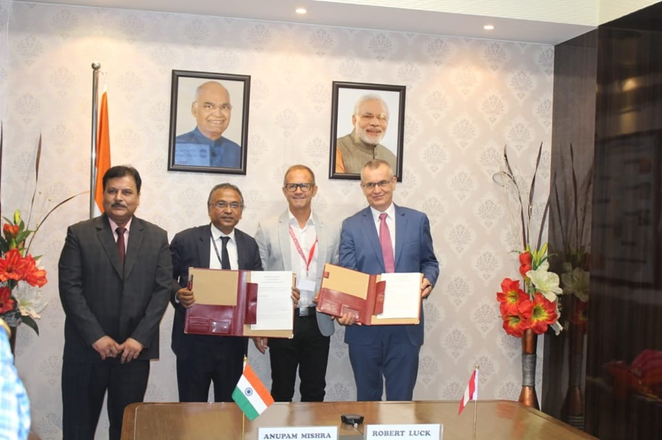 WAPCOS signed Mou with Austrian Federal Economic Chamber