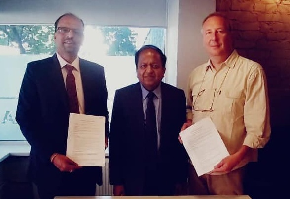 WAPCOS signed MoU with Estonian Latvian And Lithuanian Environment