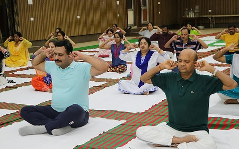 Yoga Sessions Begin in MCL